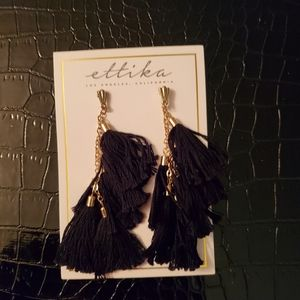 Ettika tassel earrings
